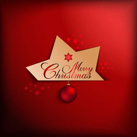Christmas card vector template Vector