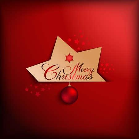 xmass: Christmas card vector template
