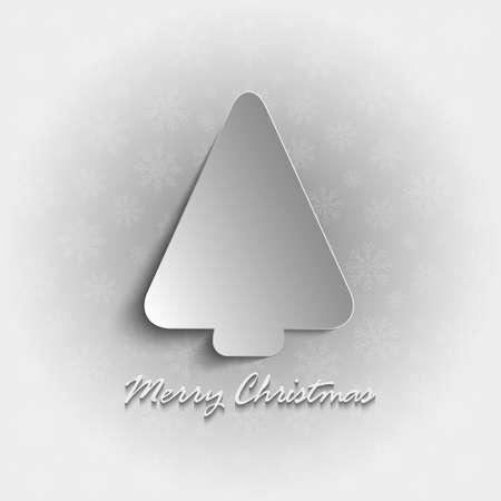 minimalist design: Christmas card - minimalist design