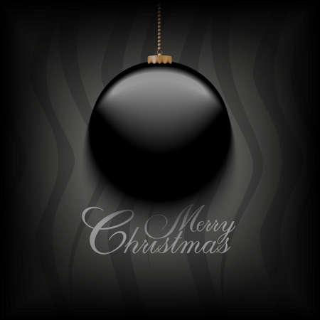 minimalista: Karácsonyi üdvözlőlap minimalista sablon Illusztráció