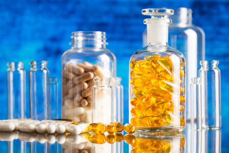 dietary supplements: Drugs or dietary supplements in glass containers