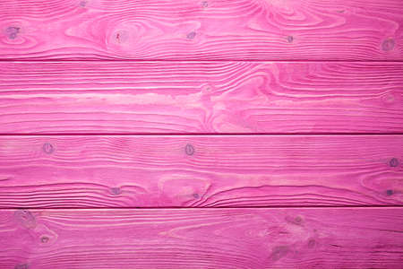 Wooden wall background or texture - pink planks Stock Photo