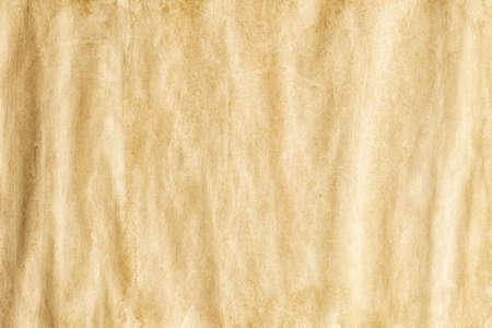 Crumpled handmade paper sheet - background or texture Stock fotó