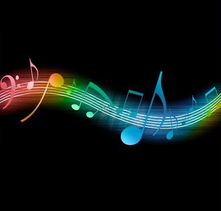 electro: Musik-Notes