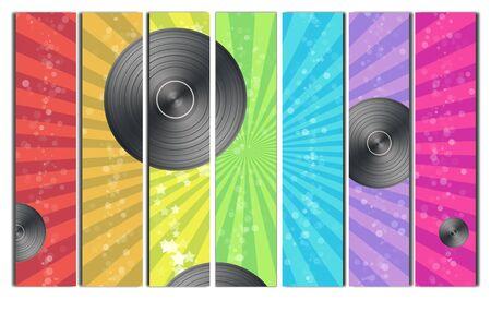 technics: Vinyl Record Backround