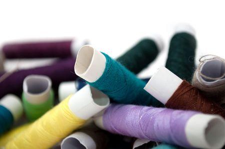 needlewoman: Multicolored Spools of Thread