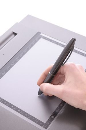Graphic Tablet Stock Photo - 6701662