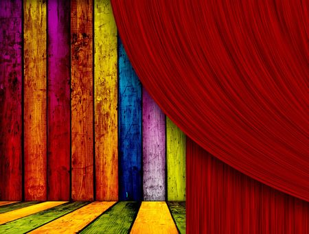 Theatrical Background Stock Photo - 6701773