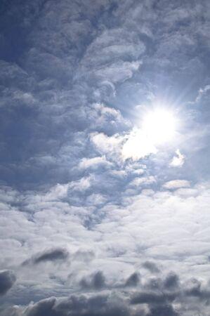 Cielo nublado  Foto de archivo - 6701669