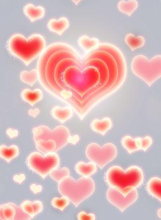 Love Background Stock Photo - 6701824
