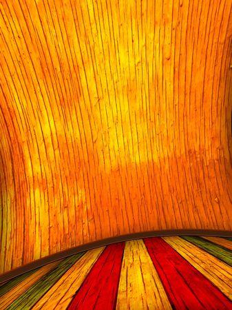 plasterwork: Fantasy Room Stock Photo