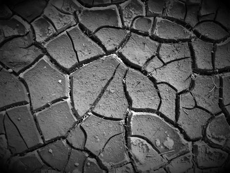 Cracked Ground Stock Photo - 6702091