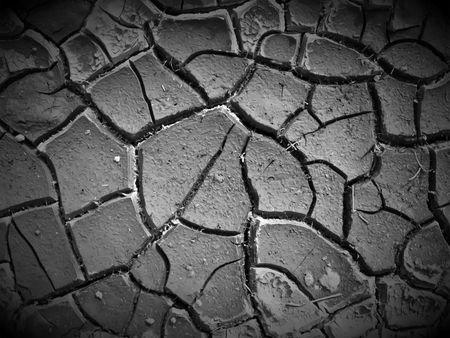Cracked Ground Stock Photo - 6702091
