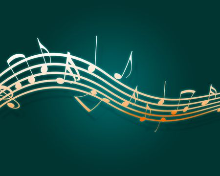Music Notes Stock Photo - 6738613