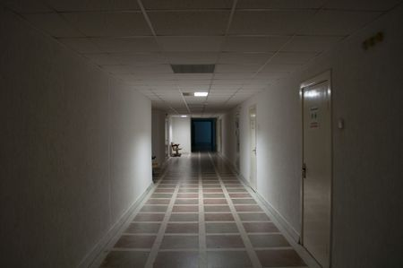 abandoned room: Empty Corridor