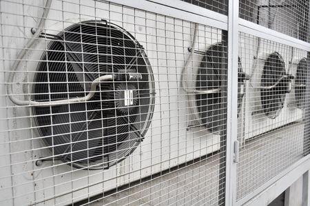 aire acondicionado: Unidad al aire libre de aire acondicionado