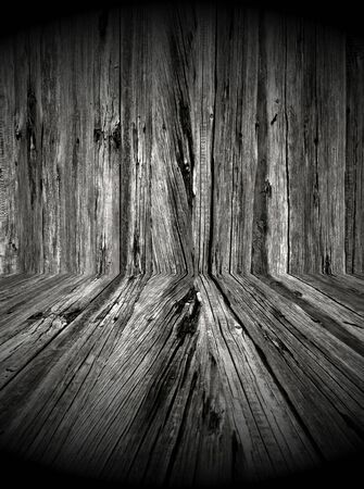 Dark Wooden Room Stock Photo - 6738846