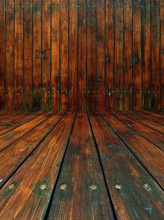 Shabby Wooden Room photo