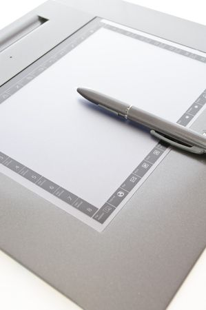 graphic tablet: Graphic Tablet Stock Photo