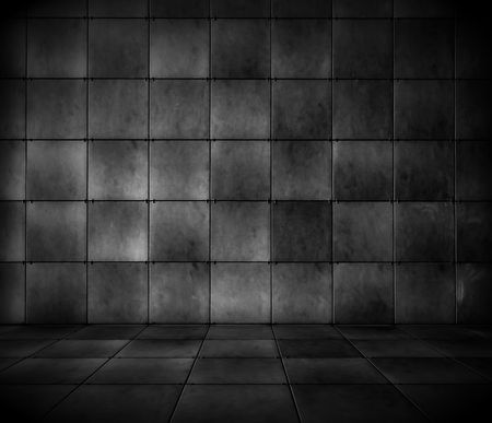 Dark Tiled Room photo