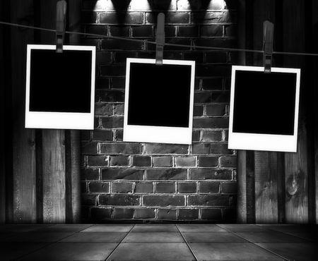 marco blanco y negro: Fotos en blanco en el interior de Creative