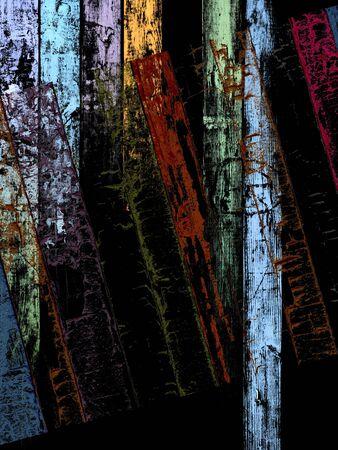 unkept: Grungy Wood Background Stock Photo