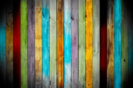 Multicolored Wood Background photo