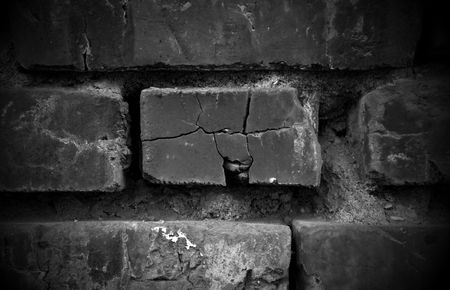 unkept: Dark Brick Background