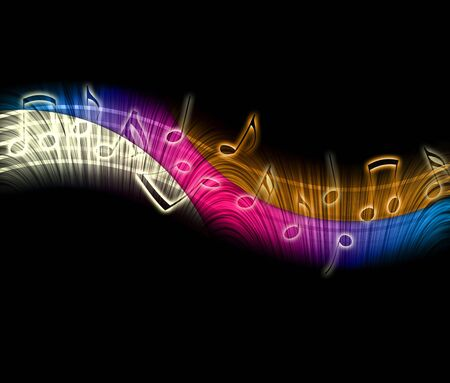 Creative Music Notes Stock Photo - 6822756