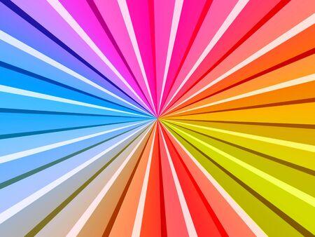 vivacity: Multicolored Rays
