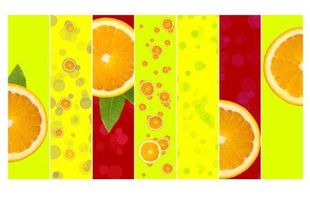 vivacity: Super Juicy Orange Background Stock Photo