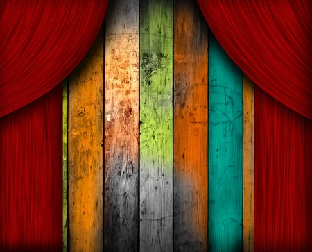 Theatrical Background photo