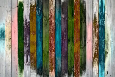 painted wood: Shabby Wooden Wall