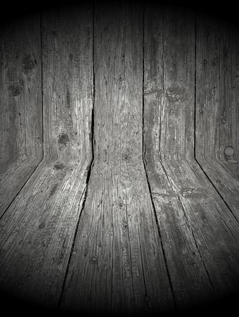 Dark Wooden Room Stock Photo - 6938427