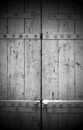 Wooden Gates Stock Photo - 6938490