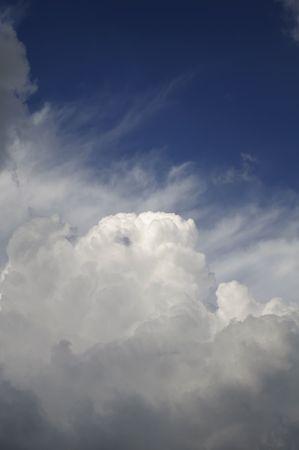 Hermoso cielo nublado  Foto de archivo - 6973498