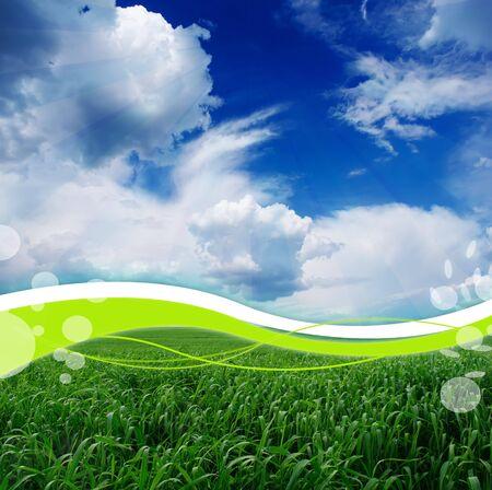 panoramic nature: Creative Landscape Stock Photo