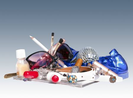 Pile of Women's Things Stock Photo - 7057329