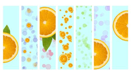 vivacity: Juicy Orange Background