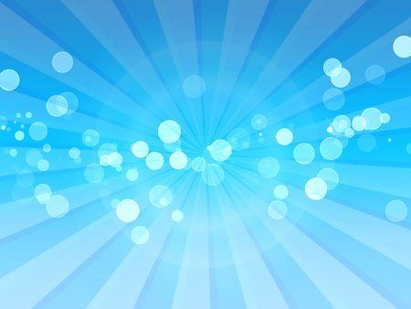 Sunlight Spots on Blue Rays Stock Photo - 7080505