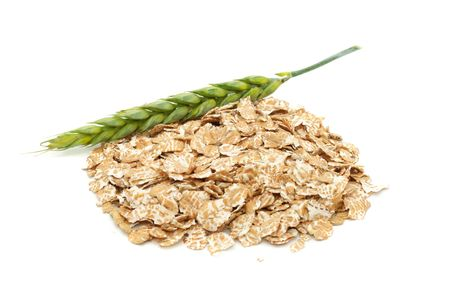 Wheat Flakes And Ear photo