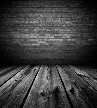 abandoned room: Dark Empty Room