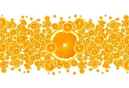 fruity: Orange Burst Stock Photo