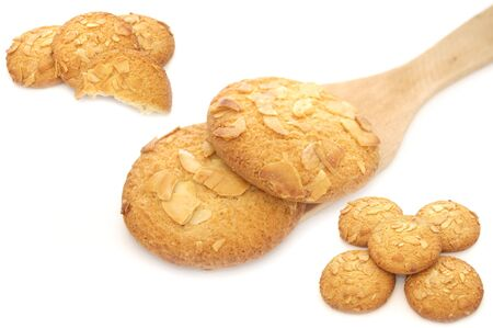 biten: Set of Cookies with Almond Chips