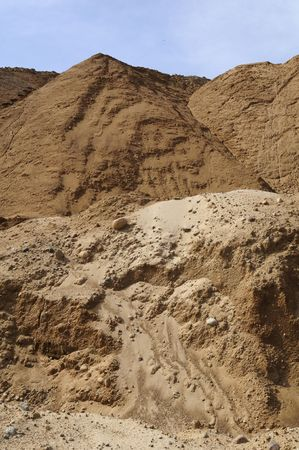 sand quarry: Sand Hills at the Quarry