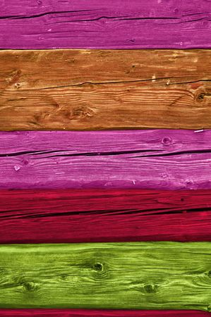 Multicolored Wood Texture photo
