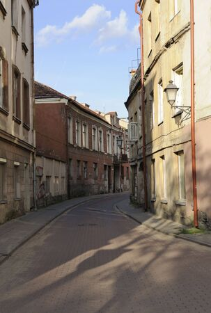 Old Street in Vilnius, Lithuania Stock Photo - 7450463
