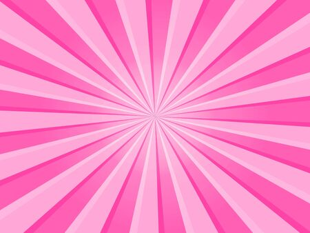 Pink Rays Background Stock Photo - 7490225
