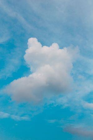 Hermoso cielo azul  Foto de archivo - 7716542