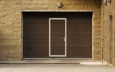 Garage Doors Stock Photo - 7716541